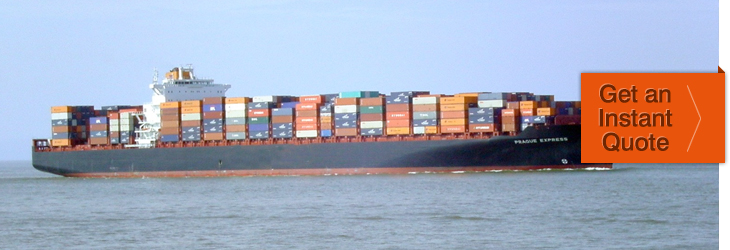 container sea freight